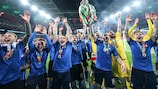 Italy were crowned EURO champions at Wembley in July