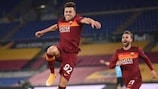 Stephan El Shaarawy enjoys scoring for Roma in the round of 16