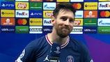 Messi, sobre su primer gol