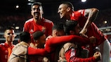 Benfica revel in their 3-0 defeat of Barcelona