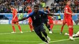 Samuel Umtiti, en el Mundial de 2018