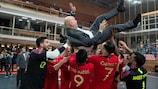 Portugal, campeón de Europa, celebra la ronda de clasificación