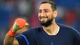 Gianluigi Donnarumma is ready for a rematch with Spain