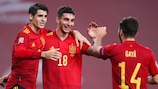 Spain defeated Germany 6-0 on their road to the finals