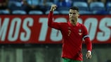 Cristiano Ronaldo steht bei 115 Treffern