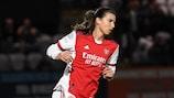 Tobin Heath opened her UEFA competition account against Hoffenheim