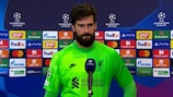 Alisson: 'It was the game we expected'