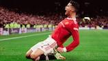 El gol ganador de Ronaldo para el Manchester United