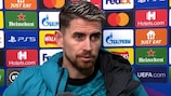 Jorginho: 'Deserved win'
