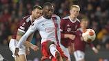 Karl Toko Ekambi scored twice for Lyon away to Sparta Praha