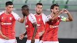 Braga soma segundo triunfo na Bulgária