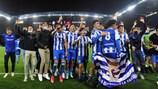 Caminho dos campeões nacionais:  jogos da segunda eliminatória